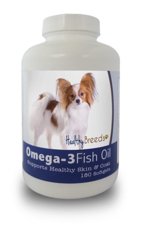 840235141778 Papillon Omega-3 Fish Oil Softgels, 180 Count