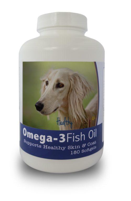 840235141921 Saluki Omega-3 Fish Oil Softgels, 180 Count