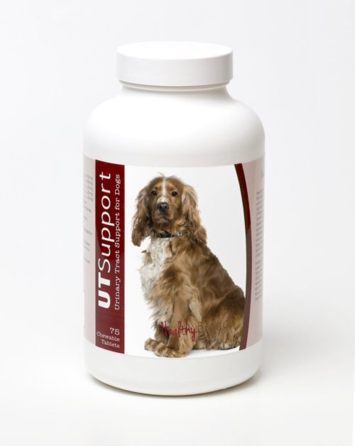 840235143796 English Cocker Spaniel Cranberry Chewables, 75 Count