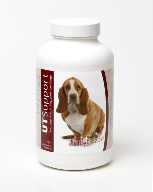 840235143895 Basset Hound Cranberry Chewables - 75 Count