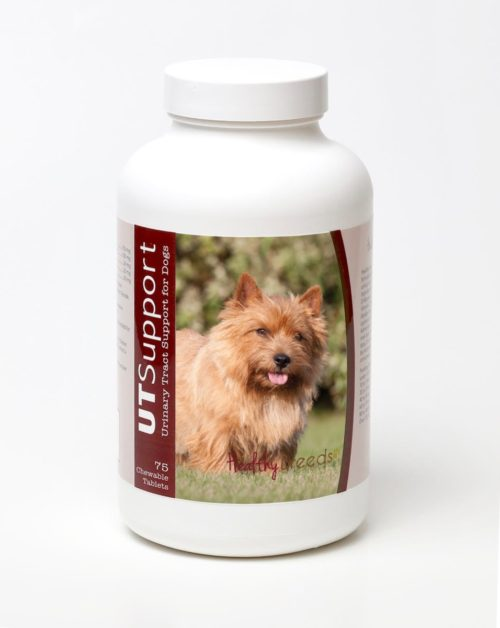 840235143918 Norwich Terrier Cranberry Chewables, 75 Count