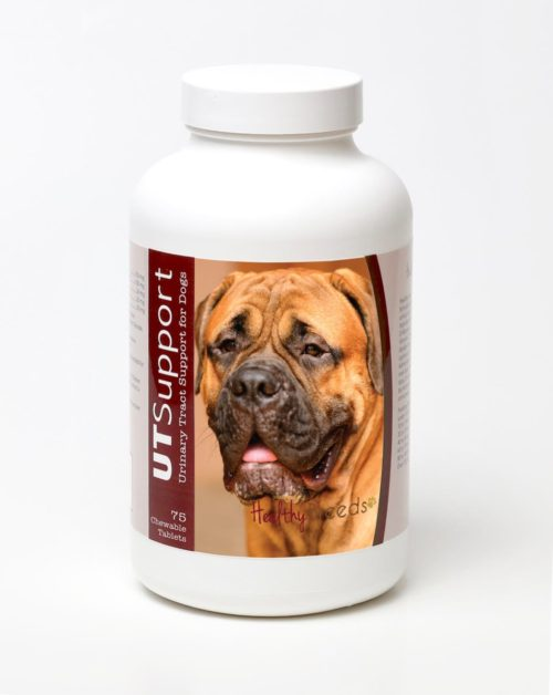 840235143963 Bullmastiff Cranberry Chewables - 75 Count