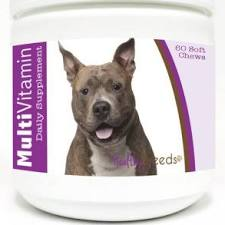 840235144465 American Staffordshire Terrier Cranberry Chewables - 75 Count