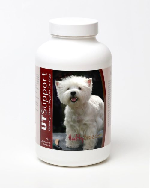 840235144502 West Highland White Terrier Cranberry Chewables - 75 Count