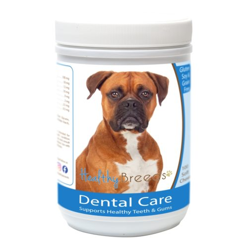 840235162827 Boxer Breath Care Soft Chews for Dogs - 60 Count