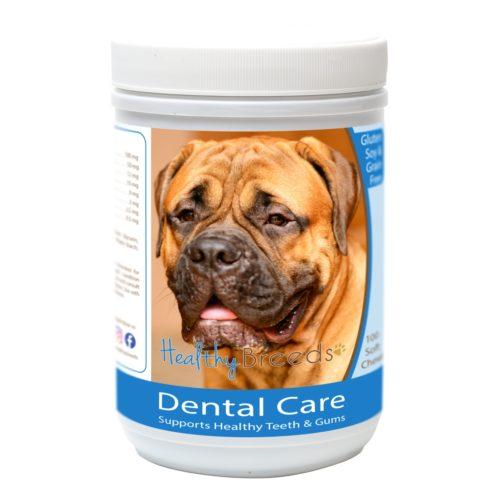 840235162902 Bullmastiff Breath Care Soft Chews for Dogs - 60 Count