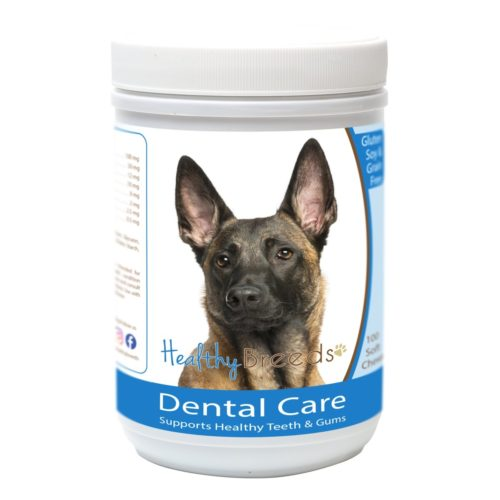 840235162933 Belgian Malinois Breath Care Soft Chews for Dogs - 100 Count
