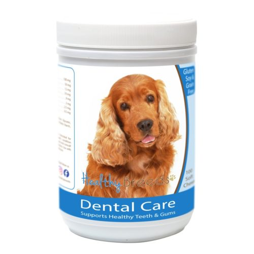 840235163084 Cocker Spaniel Breath Care Soft Chews for Dogs - 60 Count