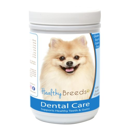 840235163251 Pomeranian Breath Care Soft Chews for Dogs - 60 Count