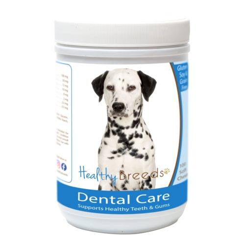 840235163305 Dalmatian Breath Care Soft Chews for Dogs - 60 Count