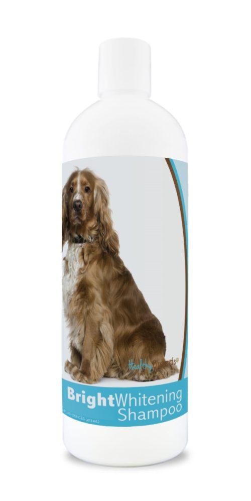 840235169727 12 oz English Cocker Spaniel Bright Whitening Shampoo