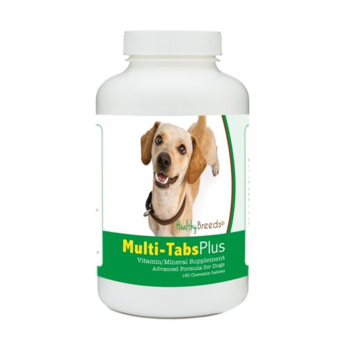 840235171843 Chiweenie Multi-Tabs Plus Chewable Tablets - 180 Count