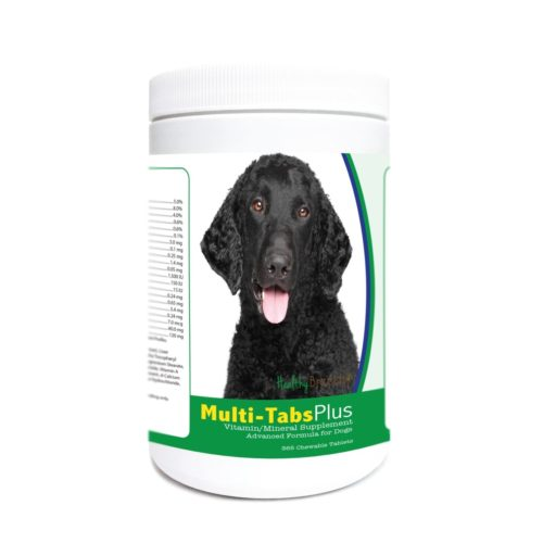 840235171904 Curly-Coated Retriever Multi-Tabs Plus Chewable Tablets - 365 Count