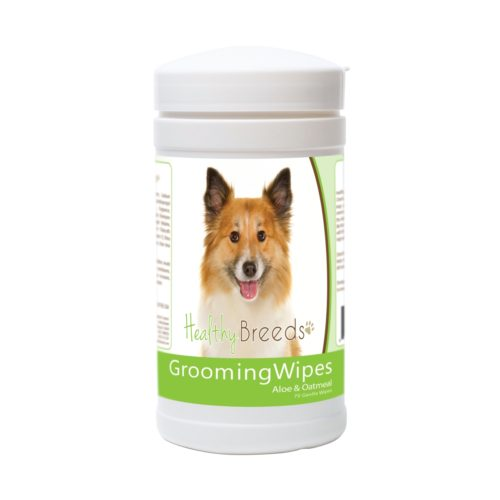 840235172215 Icelandic Sheepdog Grooming Wipes - 70 Count