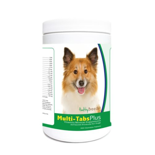 840235172239 Icelandic Sheepdog Multi-Tabs Plus Chewable Tablets - 365 Count