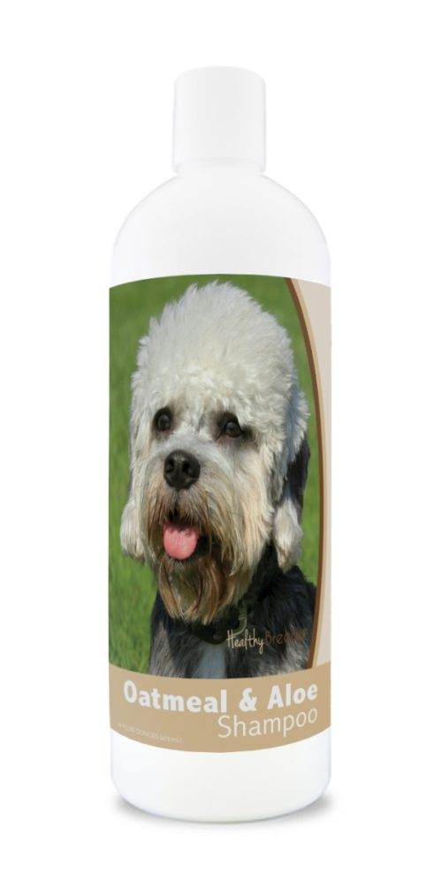 840235172376 16 oz Dandie Dinmont Terrier Oatmeal Shampoo with Aloe