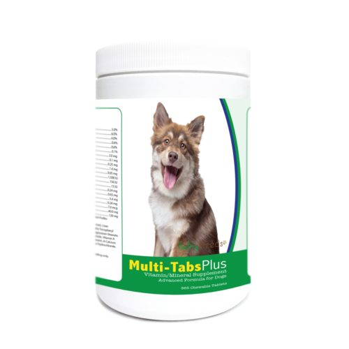 840235172949 Finnish Lapphund Multi-Tabs Plus Chewable Tablets - 365 Count