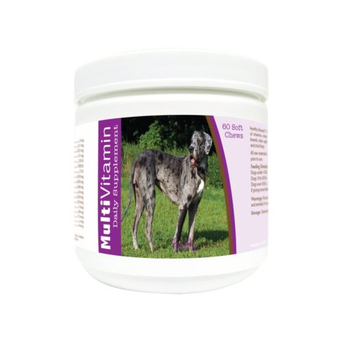 840235173328 Great Dane Multi-Vitamin Soft Chews - 60 Count