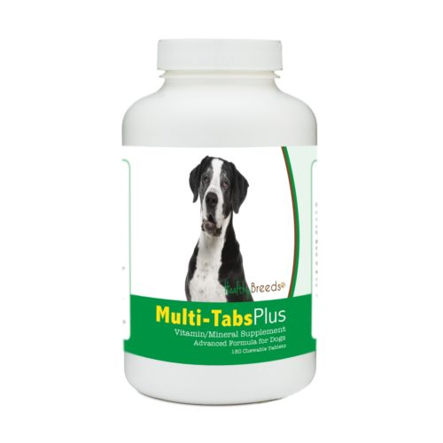 840235173342 Great Dane Multi-Tabs Plus Chewable Tablets - 180 Count