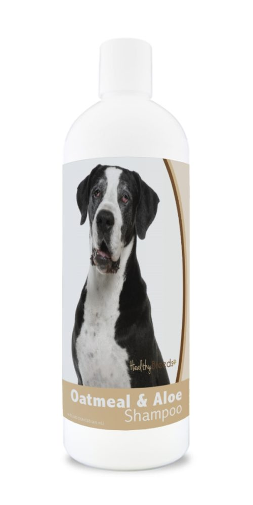 840235173366 16 oz Great Dane Oatmeal Shampoo with Aloe