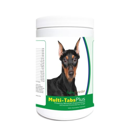 840235173595 German Pinscher Multi-Tabs Plus Chewable Tablets - 365 Count