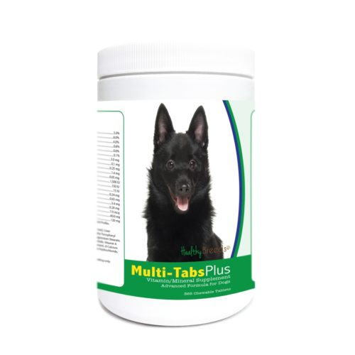 840235173878 Schipperke Multi-Tabs Plus Chewable Tablets - 365 Count