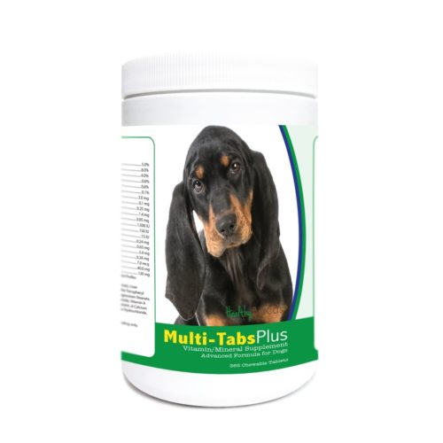 840235174097 Black & Tan Coonhound Multi-Tabs Plus Chewable Tablets - 365 Count
