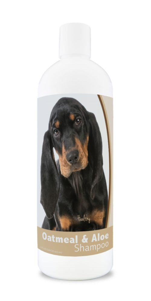 840235174103 16 oz Black & Tan Coonhound Oatmeal Shampoo with Aloe