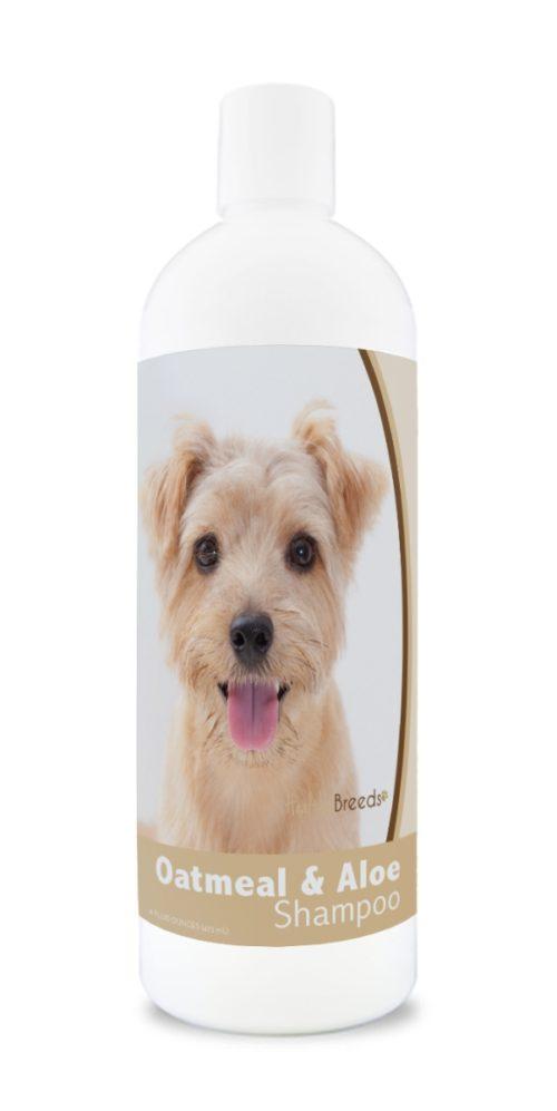 840235174172 16 oz Norfolk Terrier Oatmeal Shampoo with Aloe