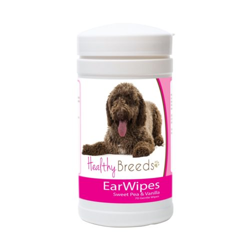 840235174523 Spanish Water Dog Ear Wipes - 70 Count