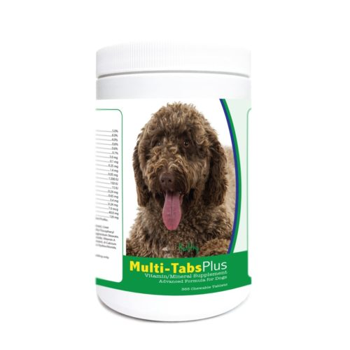 840235174608 Spanish Water Dog Multi-Tabs Plus Chewable Tablets - 365 Count