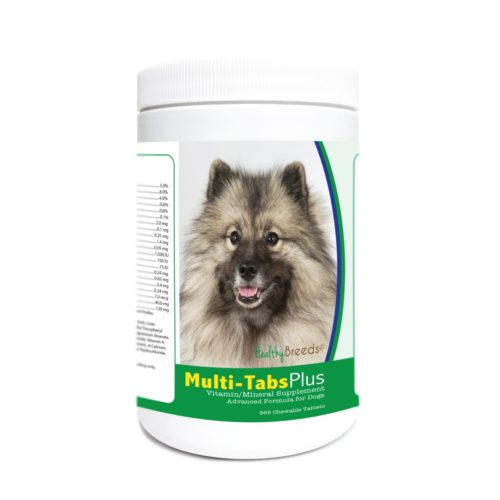 840235175049 Keeshonden Multi-Tabs Plus Chewable Tablets - 365 Count