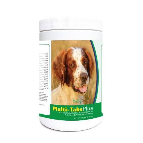 840235175070 Irish Red & White Setter Multi-Tabs Plus Chewable Tablets - 365 Count