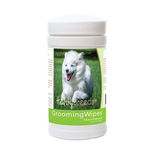 840235175407 American Eskimo Dog Grooming Wipes - 70 Count