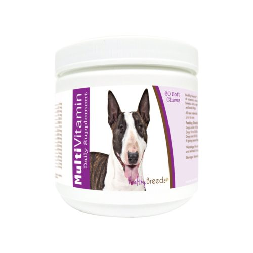 840235176480 Miniature Bull Terrier Multi-Vitamin Soft Chews - 60 Count