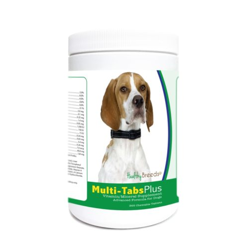840235177111 English Pointer Multi-Tabs Plus Chewable Tablets - 365 Count