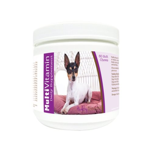 840235177210 Toy Fox Terrier Multi-Vitamin Soft Chews - 60 Count
