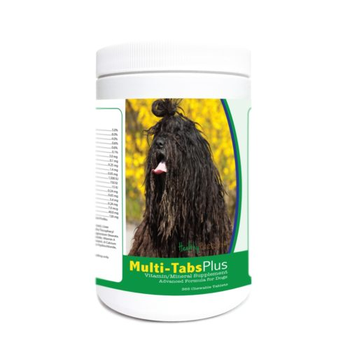 840235177609 Bergamasco Multi-Tabs Plus Chewable Tablets - 365 Count