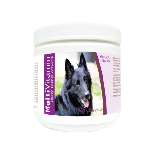 840235179795 Belgian Sheepdog Multi-Vitamin Soft Chews - 60 Count