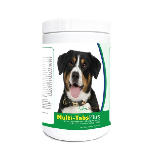 840235180142 Entlebucher Mountain Dog Multi-Tabs Plus Chewable Tablets - 365 Count
