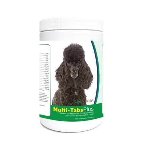 840235181811 Poodle Multi-Tabs Plus Chewable Tablets - 365 Count