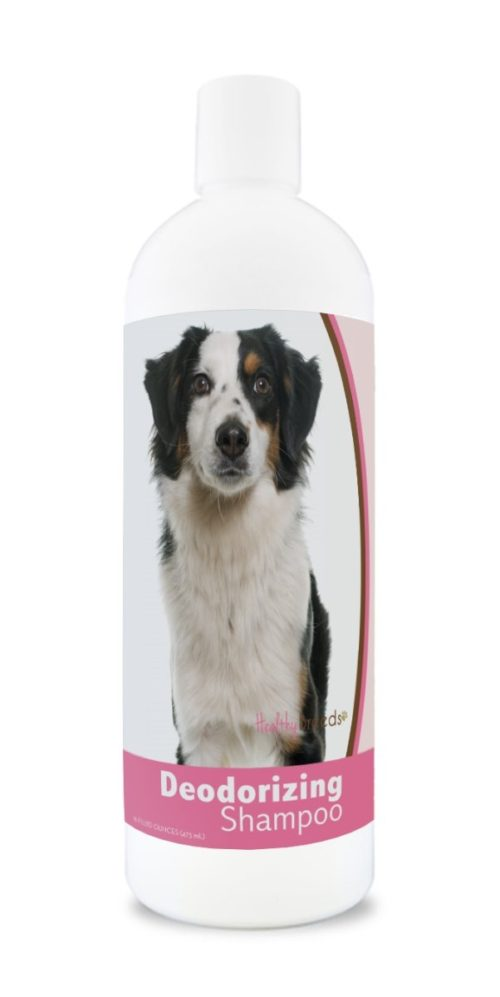 840235182108 16 oz Miniature American Shepherd Deodorizing Shampoo
