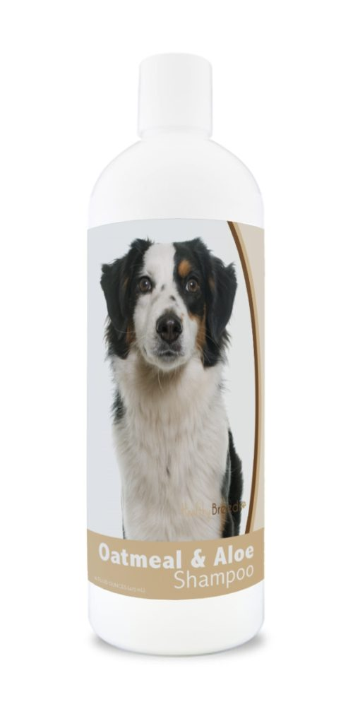 840235182122 16 oz Miniature American Shepherd Oatmeal Shampoo with Aloe