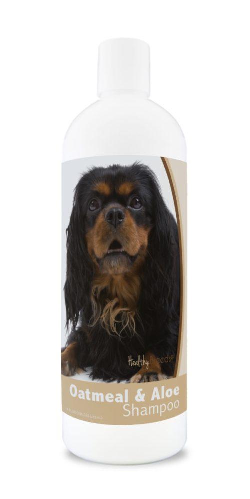 840235182269 16 oz English Toy Spaniel Oatmeal Shampoo with Aloe