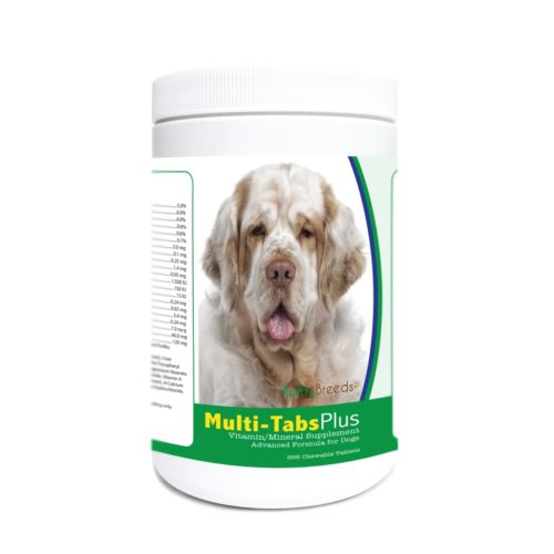 840235182382 Clumber Spaniel Multi-Tabs Plus Chewable Tablets - 365 Count