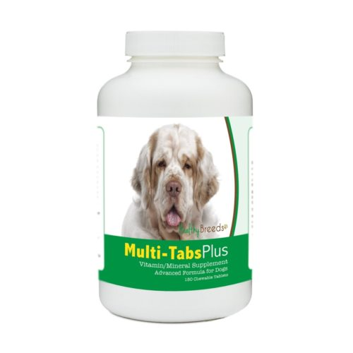 840235182429 Clumber Spaniel Multi-Tabs Plus Chewable Tablets - 180 Count