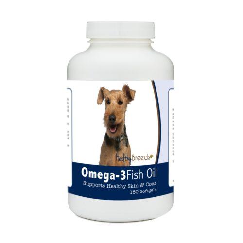 840235184782 Welsh Terrier Omega-3 Fish Oil Softgels, 180 Count