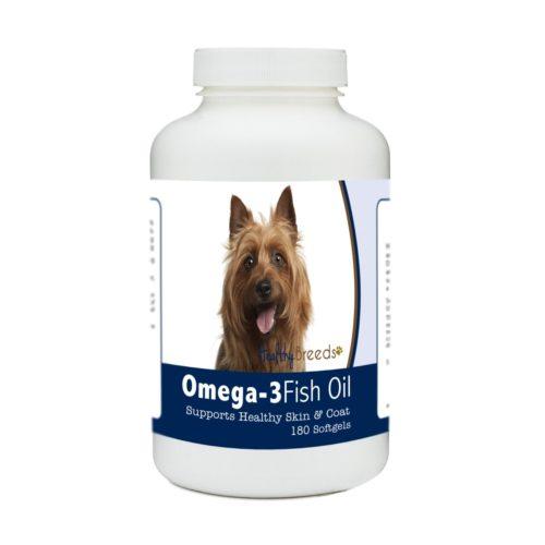 840235185215 Australian Terrier Omega-3 Fish Oil Softgels, 180 Count