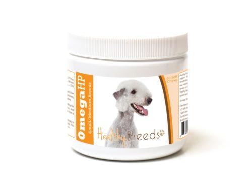 840235186649 Bedlington Terrier Omega HP Fatty Acid Skin & Coat Support Soft Chews