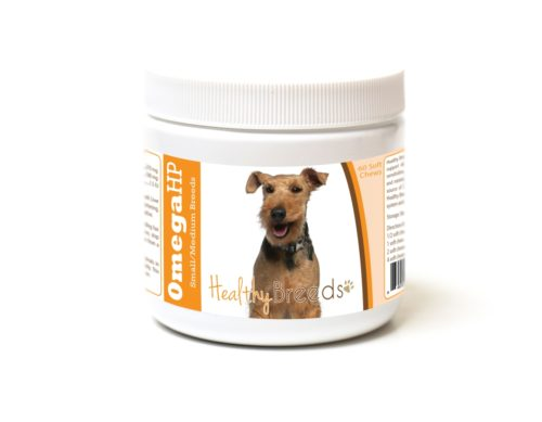 840235186984 Welsh Terrier Omega HP Fatty Acid Skin & Coat Support Soft Chews